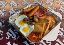 Ajs Diner Crossgar Cooked Breakfast