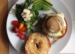 Beaux Bagels in Sevenoaks - Burger in a Bagel