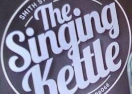 Singing Kettle Tea Shoppe in Dartmouth logo
