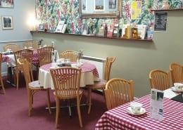 Old Bakery Tearoom Main Dining Area