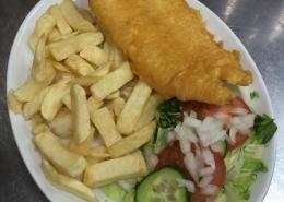 Marinaldos Fish Supper in Glasgow
